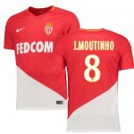 maillot as monaco joao moutinho 2017-2018 domicile
