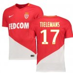 maillot as monaco tielemans 2017-2018 domicile