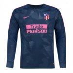 maillot atletico madrid manche longue 2017-2018 neutre