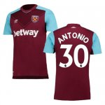 maillot west ham antonio 2017-2018 domicile