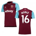 maillot west ham noble 2017-2018 domicile