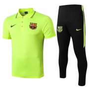 polo kit barcelone entrainement 2019-2020 jaune vert
