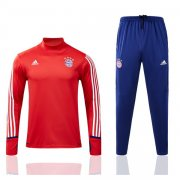 survetement bayern munich 2017-2018 col haut rouge