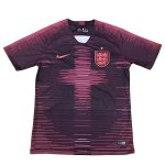 maillot angleterre entrainement 2018-2019 rose