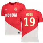 maillot as monaco djibril sidibe 2017-2018 domicile