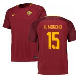 maillot as roma hector moreno 2017-2018 domicile