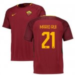 maillot as roma mario rui 2017-2018 domicile