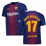 maillot barcelone paco alcacer 2017-2018 domicile