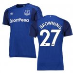 maillot everton browning 2017-2018 domicile