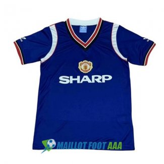 maillot manchester united retro 1984-1986 neutre