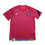 maillot paris saint germain paris entrainement 2020-2021 rose