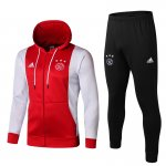 sweat a capuche ajax 2019-2020 ensemble complet rouge