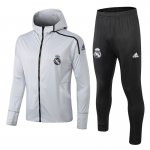 sweat a capuche real madrid 2018 2019 ensemble complet gris