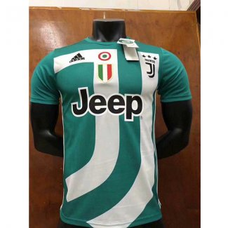 maillot juventus edition speciale 2018-2019 vert