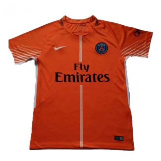 maillot psg gardien 2017-2018 orange