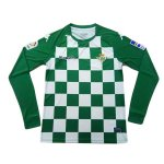 maillot real betis edition limitee manche longue 2019-2020 vert blanc