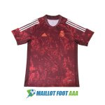 maillot real madrid entrainement 2020-2021 camouflage rouge