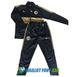 veste inter milan 2019-2020 ensemble-complet noir or