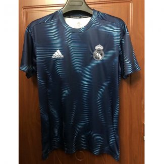 maillot real madrid entrainement 2018-2019 bLeu