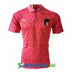 polo italie 2020-2021 rouge