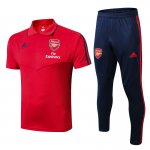 polo kit arsenal entrainement 2019-2020 rouge