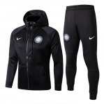 sweat a capuche inter milan 2017 2018 ensemble complet noir