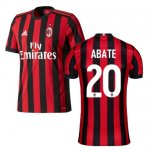 maillot ac milan abate 2017-2018 domicile