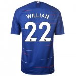 maillot chelsea willian 2018-2019 domicile