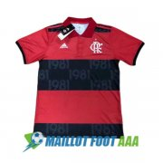 polo flamengo 2021-2022 rouge noir CR 1981