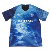 maillot manchester city edition speciale 2018-2019 bleu1