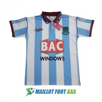 maillot west ham united retro 1991-1992 exterieur
