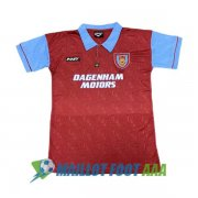 maillot west ham united retro 1995-1997 domicile