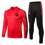 veste Paris Saint Germain Jordan 2018 2019 ensemble complet roug