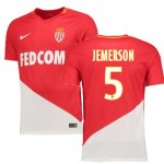 maillot as monaco jemerson 2017-2018 domicile