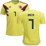 maillot colombie bacca 2018 domicile