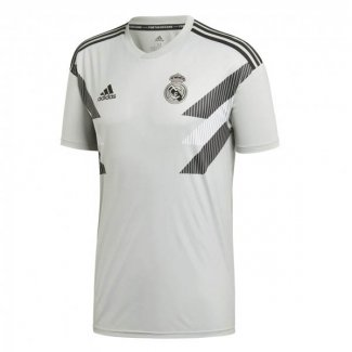 maillot real madrid entrainement 2018-2019 gris