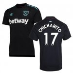 maillot west ham chicharito 2017-2018 exterieur