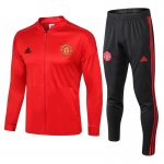 veste Manchester United 2018 2019 ensemble complet rouge
