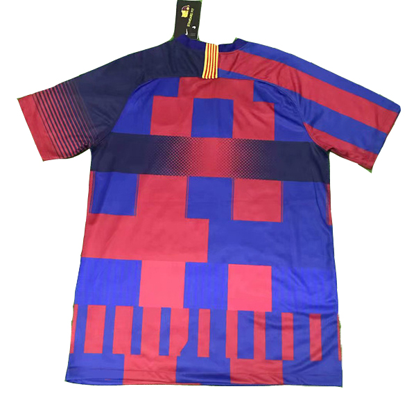 maillot barcelone commemoratif 20eme rouge
