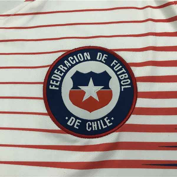 maillot chili 2018 exterieur