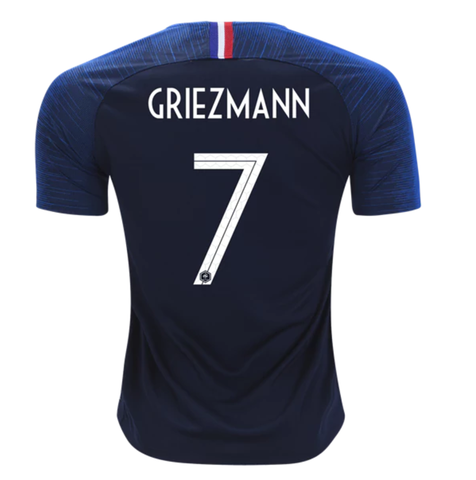 achat maillot france griezmann 2018 domicile. Black Bedroom Furniture Sets. Home Design Ideas