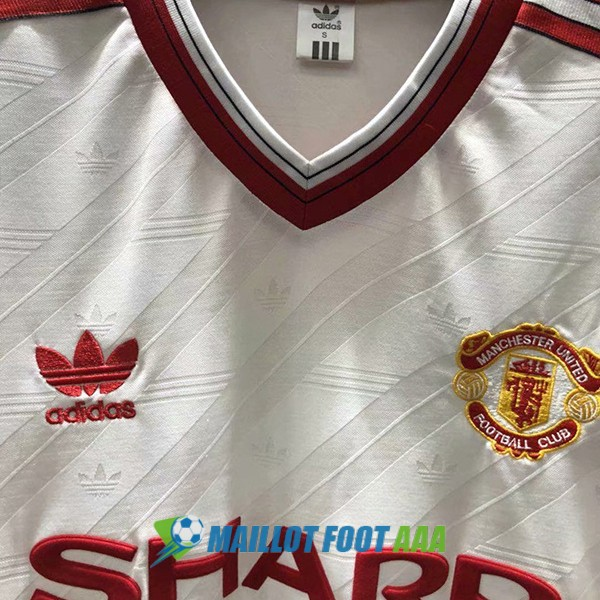 maillot manchester united retro 1986-1988 exterieur