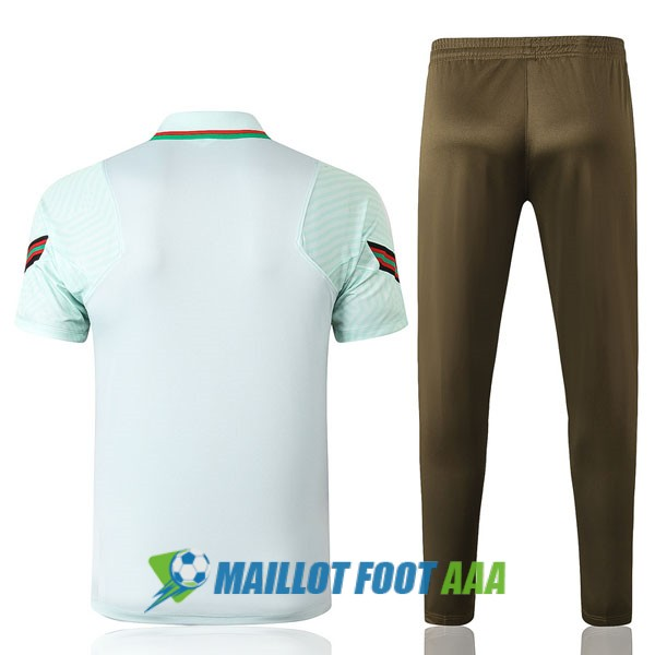 polo kit portugal entrainement 2020-2021 vert